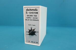 Electromatic Controls Corp Sa 205 724 Delay On Operate Relay 0 15 3s 24vdc