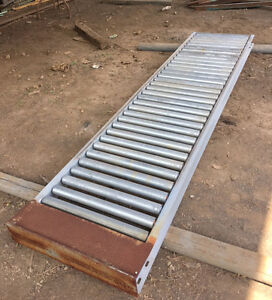 25 Gravity Roller Conveyor 9 Ft Sections