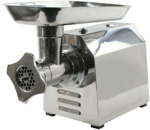 Commercial Electric Meat Grinder Food Sausage Maker Stuffer Stainless Steel New