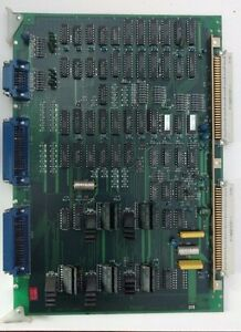 Fx63 Card From Mitsubishi M25k Cnc Ram Edm Machine