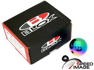 Blox Racing Limited 490 Spherical Neo Chrome Shift Knob 10x1 25mm For Nissan