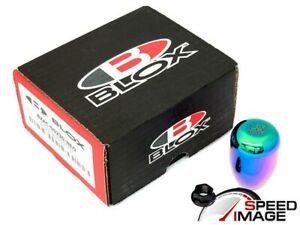 Blox Racing Limited 5 Speed Neo Chrome Shift Knob 10x1 5mm Civic Integra