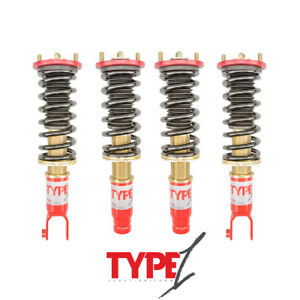 Function Form Type 1 Height Adjustable Coilovers F2 Honda Civic 1996 2000 Ek9
