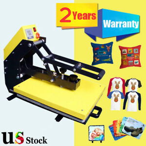 Usa Stock 16 X 20 Auto Open T shirt Heat Press Machine With Slide Out Style