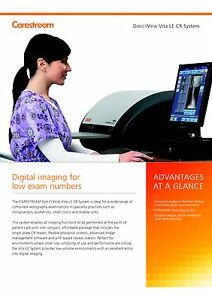 Carestream Vita Xe Cr Digital X ray 2018 Software Upgrade 1 Year Warranty