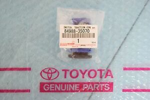 Genuine Toyota Fj Cruiser 4runner Traction Control Switch 84988 35070