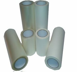 300mm Wide X 100mtr Long Roll App Tape Application Transfer Tape Paper Or Clear
