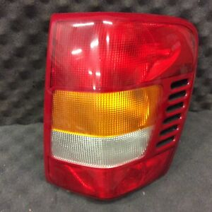 99 00 01 02 Jeep Grand Cherokee Right Tail Light Clean Oem 3