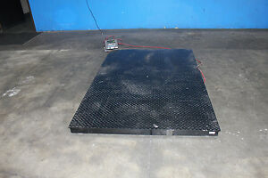 Floor Scale 10 000 Lb 4 x6 Rice Lake Digital Platform Industrial Shipping