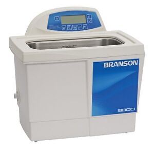Branson Cpx3800h 1 5 G Ultrasonic Cleaner W Digital Timer Heater Degas Temp Mon