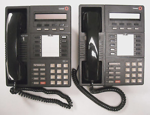 Two 2 Lucent Mlx 10dp Office Phones Telephones