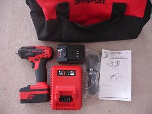 Snap On 18v 3 8 Drive Cordless Impact Wrench Ct8810 New