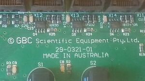 Gbc Scientific Equipment Plasma Optical Emissions Spectrometer Board 29 0321 01