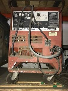 Lincoln Sp 200 Welding Machine