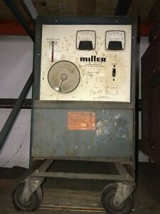 Miller Cp300 With Wirefeeder