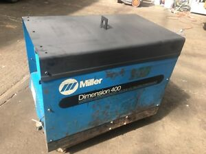 400 Amp Miller Dimension Dc Welding Power Source Stk 902970
