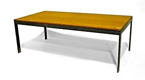 American Post War Design 1950s Rectangular Low Coffee Table