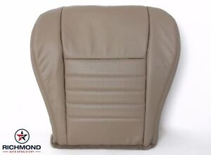 2001 2002 Ford Mustang Gt Convertible V8 driver Bottom Leather Seat Cover Tan