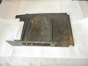 Mercedes Benz 190 Ponton Firewall Center Piece Fire Wall Oem Partition Bracket