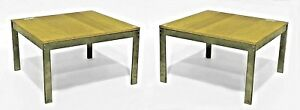 Pair Of American Post War Design 1950s Square Low Coffee Tables