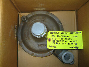 Fisher Relief Valve Or Vacuum Regulator Y612