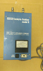 Msa Catalytic Oxidizer Model B 60 Day Warranty