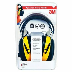 3m 90541 80025v Hearing Protector And Am fm Stereo Radio