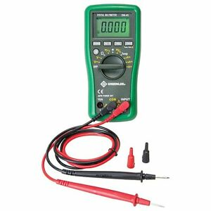 Greenlee Dm 45 Digital Multimeter 600 Volt