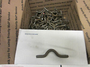 Weld On Fence Clips Size 3 8 By 3 4 Inch Lot Of 300