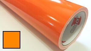 Pastel Orange Vinyl Roll Making Decals Signs And Craft Sticker Cutter 24inx30ft
