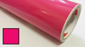 Pink vinyl Roll Making Decals Signs And Craft Sticker Cutter 24inx30ft
