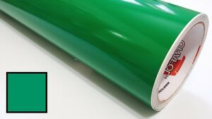 Green Vinyl Roll Making Decals Signs And Craft Sticker Cutter 24inx30ft