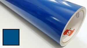 Blue Vinyl Roll Making Decals Signs And Craft Sticker Cutter 24inx30ft