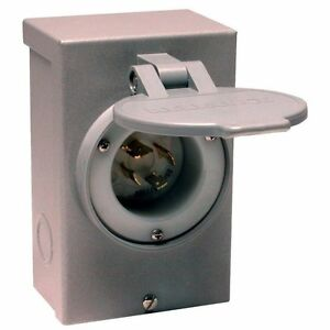 Reliance Controls Pb 30 Generator Power Cord Inlet Box 30 Amp