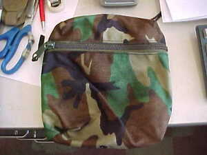 CAMO MICH ACH carrying pocket SMALL 2 modular intergrated helmet system pouch $12.00