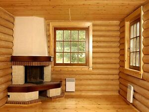 Log Cabin Home Shell Kit Logs 1266 Sq ft 36 X 24 With Loft And Porch