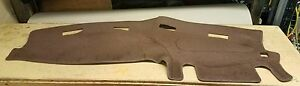 1998 1999 2000 2001 Dodge Ram 1500 2500 3500 Dash Cover Dark Brown Polycarpet