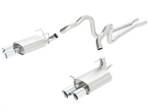 Borla Shelby Mustang Gt500 2013 2014 Cat Back Exhaust S Type Part 140500