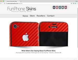 Turnkey Phone Skin Business Inventory Skin Templates Ecomm Website Social