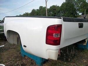 Gmc 3500 2014 Bed Of Dually Truck White Clean 8 Take Off Tailgate