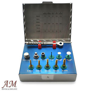 Surgical Bone Preparation Dental Implant Bone Expander Kit With Saw Disks New Ce