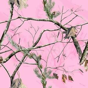 Realtree Pink Camo Air Release Wrap Vinyl Decal Matte Laminated 12 X12