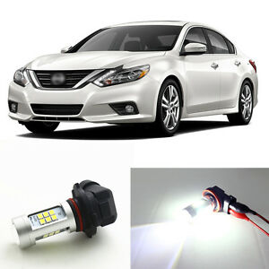 4 X 6000k White H11 Led Fog Light 5202 Drl Bulbs For 2016 2017 Nissan Altima