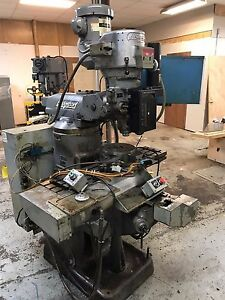 Bridgeport Cnc Series 1 Milling Machine Dynapath 10