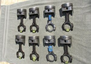 Ford 5 8l 351w Connecting Rod And Piston Set Of 8 040 Bore