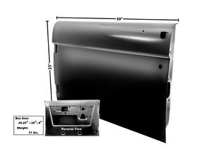 1968 77 Ford Bronco Door Shell Lh New Dii