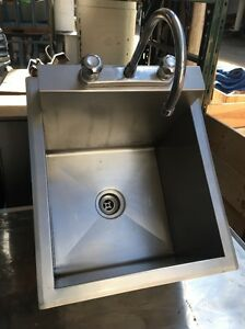 Waltec Commercial Stainless Steel Drop In Sink