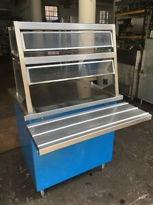 Delfield Shelleyglas Kcsc nu 36 Chilled Food Counter Serving Prep Station