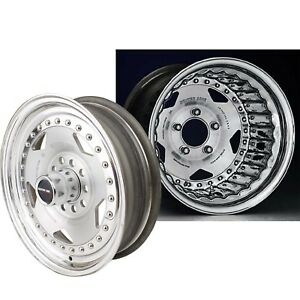 Centerline Cl 005804542 Convo Pro Wheel Satin Polished 15x8 5 X 4 25 Bolt C