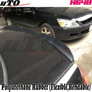New Painted H648 Style Rear Trunk Lip Spoiler Wing For 2001 05 Honda Civic Sedan